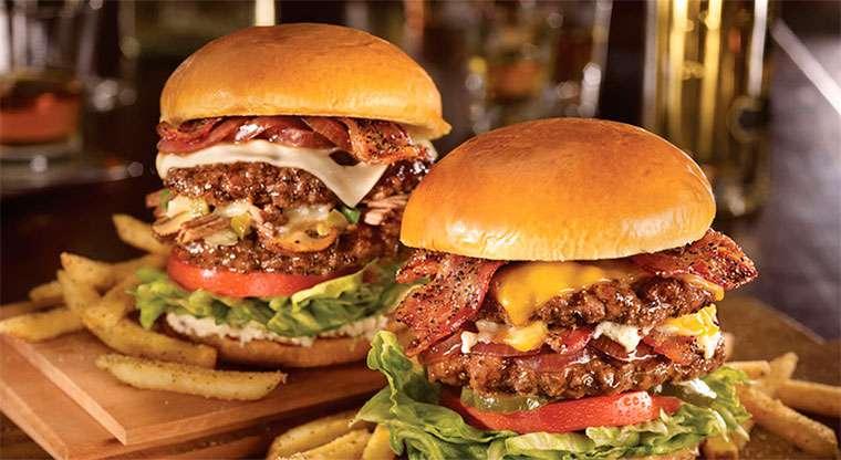 Hambúrgueres deliciosos quebra-cabeça online