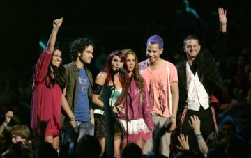 RBD group from Mexico - in November 2004 they released their debut album Fri Rebelde. In September 2005, they released their