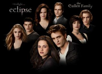 The Cullen family - Cullens, Olympic Coven, Clan Cullens - vegetarian vampire family living in Forks, which includes: Ca