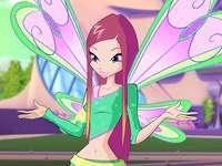 Roxy Believix - Princesa Roxy - é uma das últimas bruxas da Terra. Sua mãe é Morgana, rainha dos bruxos da terra
