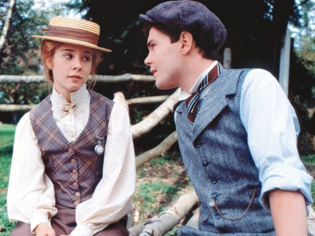 Ania Shirley și Gilbert Blythe