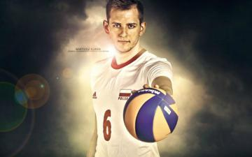 """Bartosz Kurek """"BAMBINO"""" - In the Polish national team he made his debut on June 1, 2007 in a World League match against Argent"""