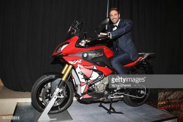 William Levy on a motorcycle - He appeared on television for the first time on reality TV show Isla de la tentación. Then he signe