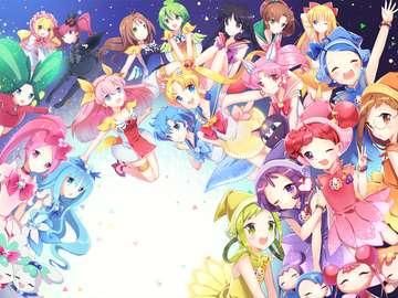 Manga Wedding Peach - Ursprungligen dök det upp i den japanska Ciao-tidningen Shōgakukan. Det har översatts och publice