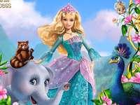 Barbie och prinsessan - Barbie som Rosella (Ro) åker till en ensam ö vid sex års ålder. Han kommer inte ihåg vem han ä