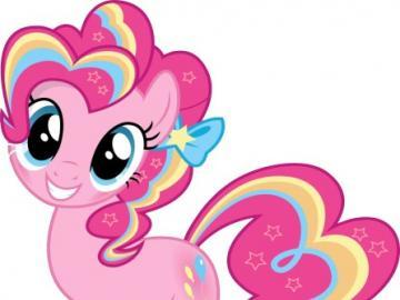 Pinkie Pie - postać z bajki - Diane Pie — ziemski kucyk, jedna z głównych bohaterek serialu, zamieszkująca Ponyville. Siostra
