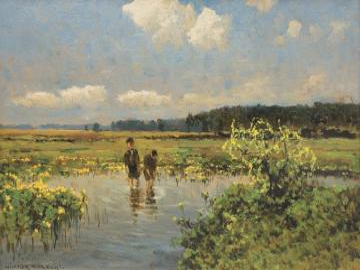 Korecki Wiktor - Wiktor Korecki (Kamieniec Podolski 1890 - Komorów pod Warszawą 1980) - malarz pejzażu - ukończy�