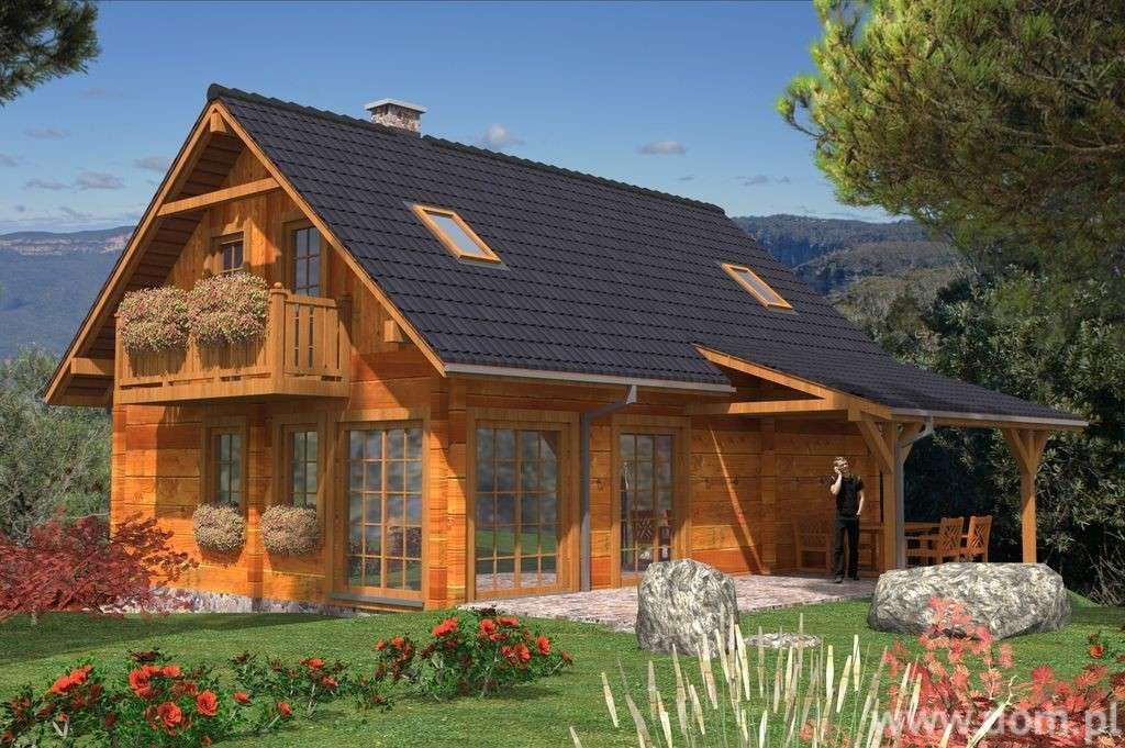 Fa vidéki házak