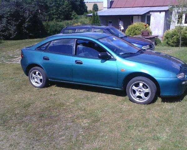 Blå Mazda - Vackra Mazda, och henne - bra körning (5×5)