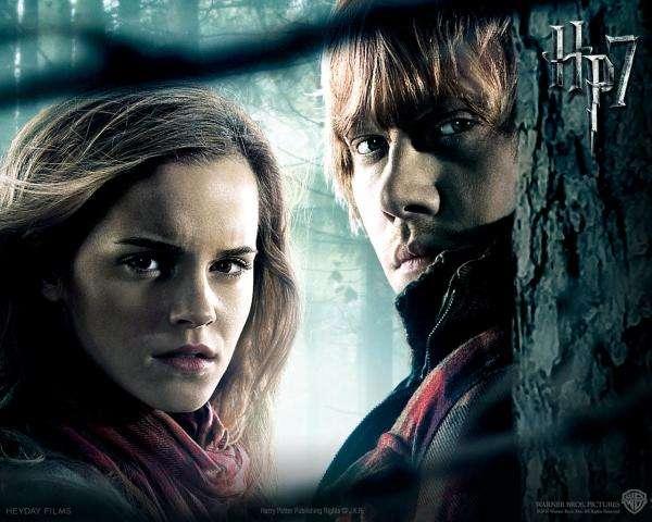 Hermine und Ron