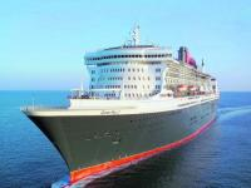 Statki - Gdynia - Piękny statek Queen Mary
