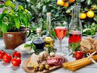 kwiaty i owoce - kwiaty owoce smaczne danie