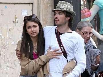 Nina Dobrev και Ian Somerhalder - το πιο όμορφο ζευγάρι στην ιδιωτική ζωή, καθώς και στο �