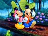 Mickey Mouse e Pato Donald