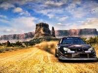 Se rallier - Rajesh samochodowe na pustyni Sahara z przeszkodami i dużymi atrakcjami