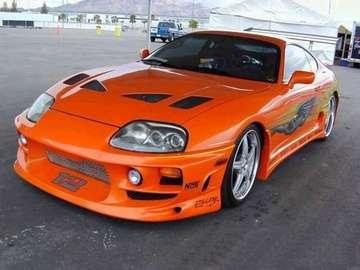 Toyota - supra - Piękny samochód sportowy