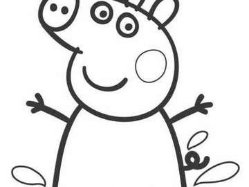Peppa pig puzzle - cartone animato Peppa pig