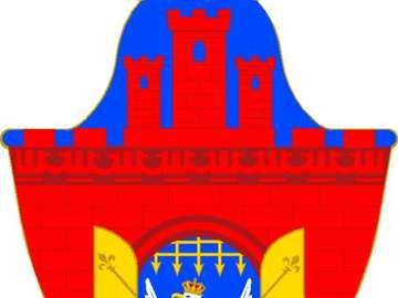 Герб на Краков - пъзели показват герба на Краков