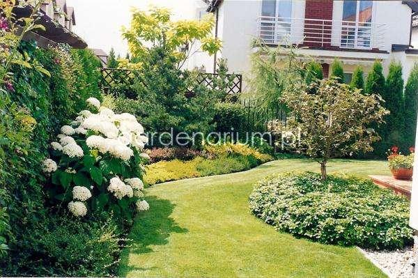 Garten vor dem Block