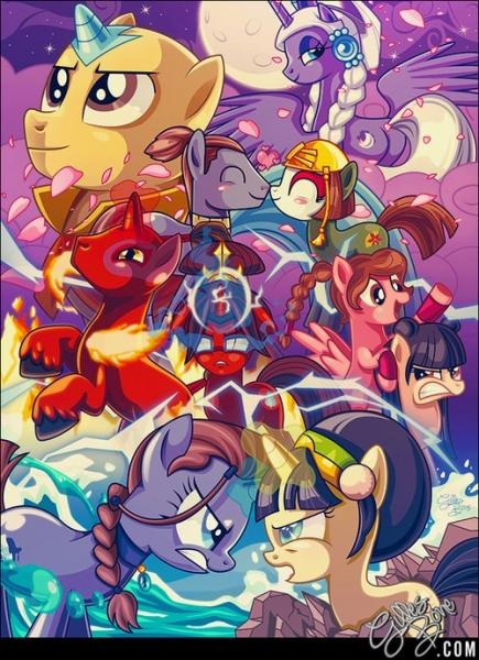 Ponies In Avatar Style Play Jigsaw Puzzle For Free At Puzzle Factory