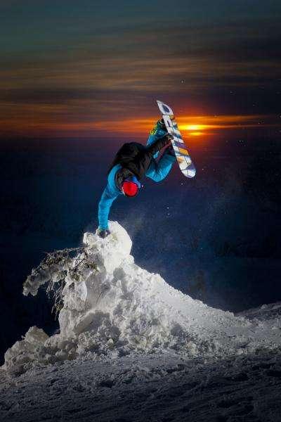Nitro snowboard - Nitro snowboard puzzel (5×5)