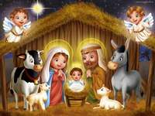 Pesebre de navidad - Belén - Navidad de Jesús
