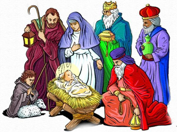 stabiel - Kerst kerststal. Stabiel bij de Heilige Familie. CFVKLCNJMFLKNMFG; NMD / (5×5)