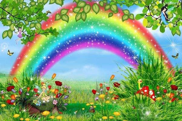 Rainbow Land - Przeznaczone dla dzieci w wieku 5 lat (13×9)