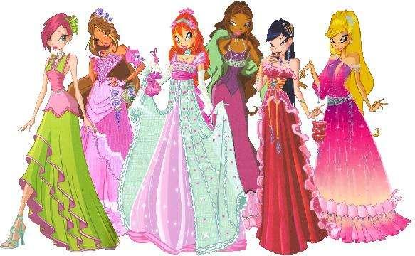Club Winx - Winx Club:Layla,Stella,Flora,Musa,Tecna,Rosy i Bloom (6×6)