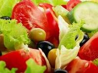 Διαιτητική σαλάτα