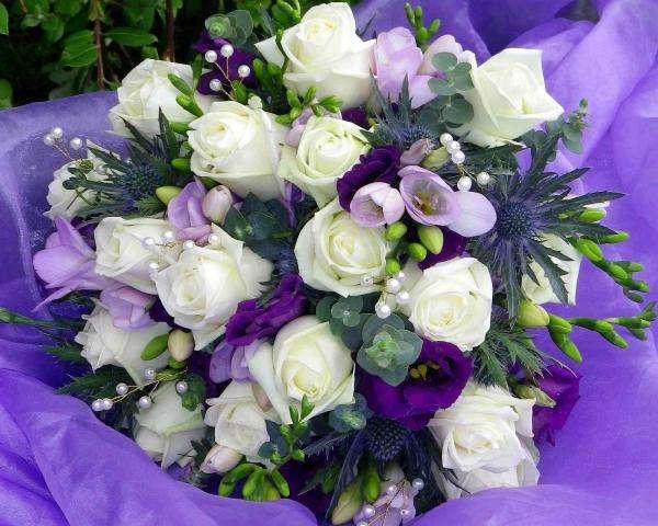 buquê de rosas brancas - buquê de rosas brancas para o dia do nome (10×10)