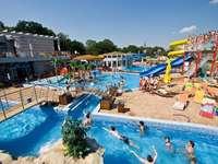 New pools - Kompleks basenów w Uniejowie