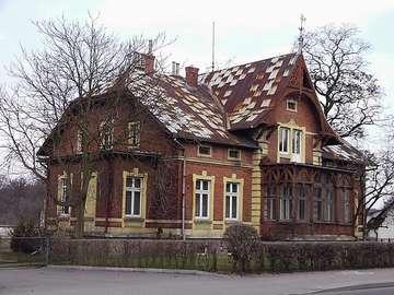 Maison historique - Wolsztyn - zabytkowe zabudowania mieszkalne przy ulice Poniatowskiego