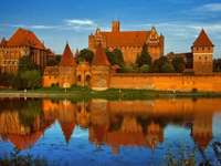 Poolse monumenten - Malbork Castle Polen