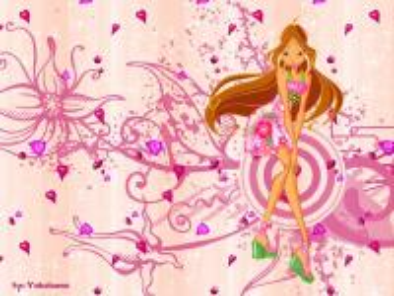 Winx Club Flora - Winx Club Sezonul 4 Flora