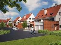 Νέα κατοικία - Σπίτια τεσσάρων οικογενειών στο Szczecin