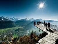 Panorama de suiza