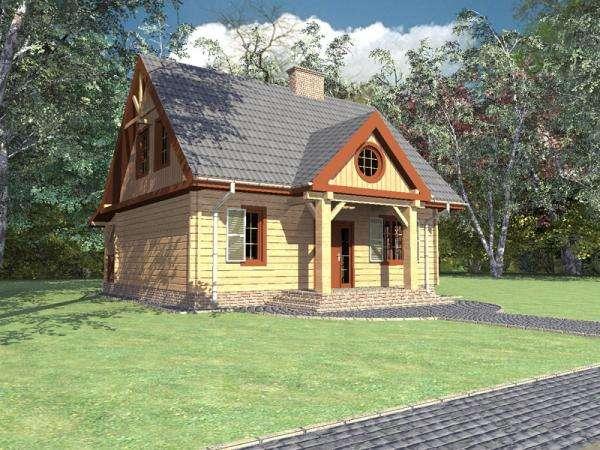 Emeletes ház - Ház alagsor vagy garázs nélkül (10×10)