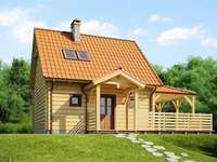 Ett hus med vind