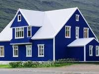 Építés Izlandon kirakós játék