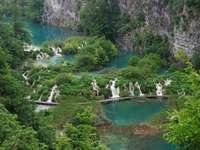 Freilichtmuseum in Norwegen - Park ich pięknne wodospady