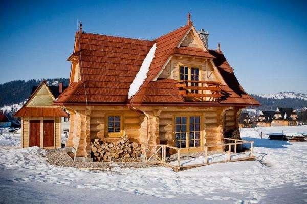 hiver en montagne - Domek u Kantora Zakopane (10×10)
