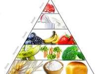 SALUD DE LA PIRAMIDE - Spróbuj ułożyć piramidę zdrowia.