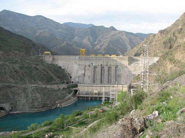 Grote gebouwen - Waterdam in aanbouw China (10×10)