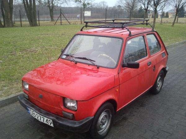 Maluch Fiat 126p - Mój Fiat 126p. Niedowano go sprzedałem. Moja córka i ja bardzo za nim tęsknimy.Fiat 126 (cento