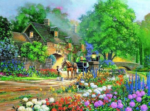 Malowniczy krajobraz