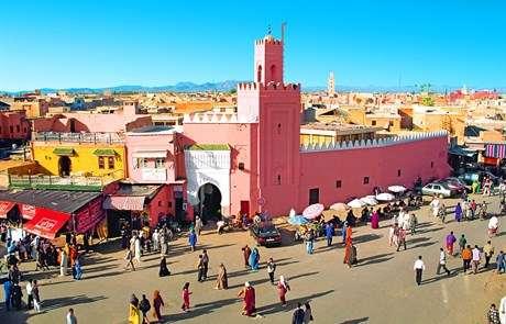 Πολύχρωμη αγορά του Μαρόκου - Ταξίδι στο Barbera Μαρόκο (10×10)