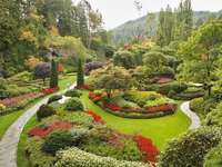 Placer a la vista - Piękny duży ogród na wzgórzu