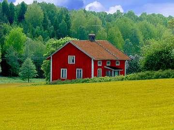 Casa Rossa v Legnu