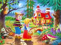 Hansel and Gretel and the hous - Jaś i Małgosia i domek